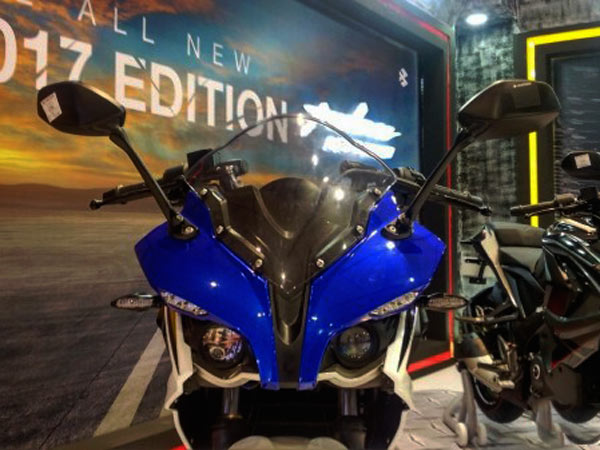 bajaj launches 2017 pulsar rs 200 racing blue edition priced at rs