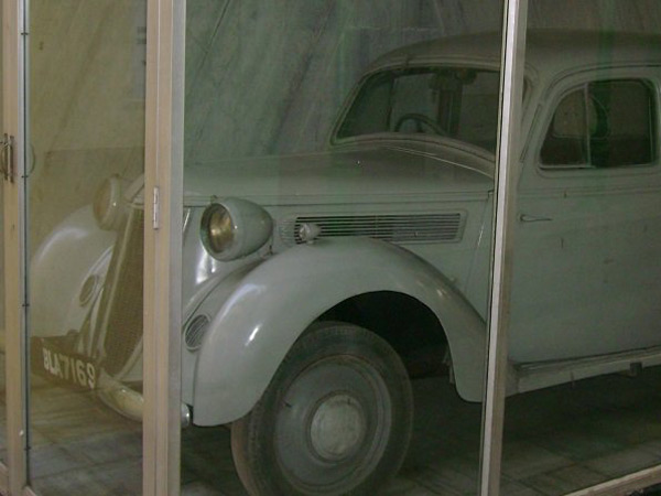 Subhash Chandra Bose's Car Restored; Unveiled By President Pranab Mukherjee