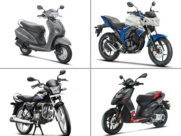 Top 10 Two-Wheeler Manufacturers In 2016 For India
