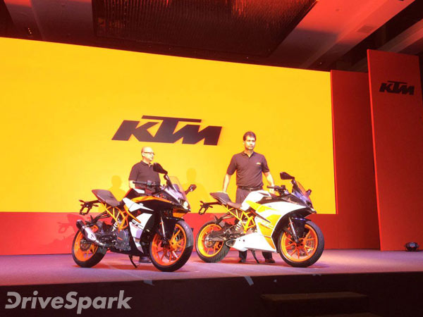 2017 KTM RC390 & RC200 Launched In India; Launch Price + Photo Gallery