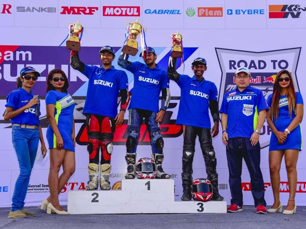 Suzuki India Concludes 2016 Gixxer Cup On A New High