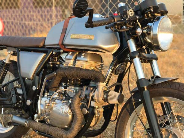 Turbocharged Royal Enfield Continental GT — Any Takers?