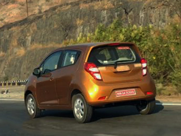 Chevrolet Beat Facelift Spied Testing In India; Launch Imminent?