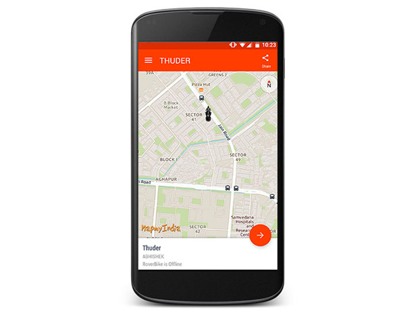 MapMyIndia Launches GPS Tracking Device For Motorcycles — Here Are The Details