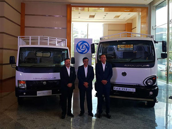 Ashok Leyland Launches Guru And Partner Trucks In Chennai