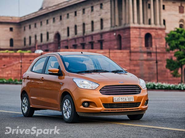 Ford India Adds New Safety Features For Figo & Aspire Titanium (O) Variant