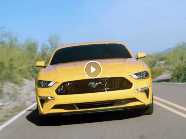 Ford Mustang Facelift Leaked Ahead Of Official Reveal