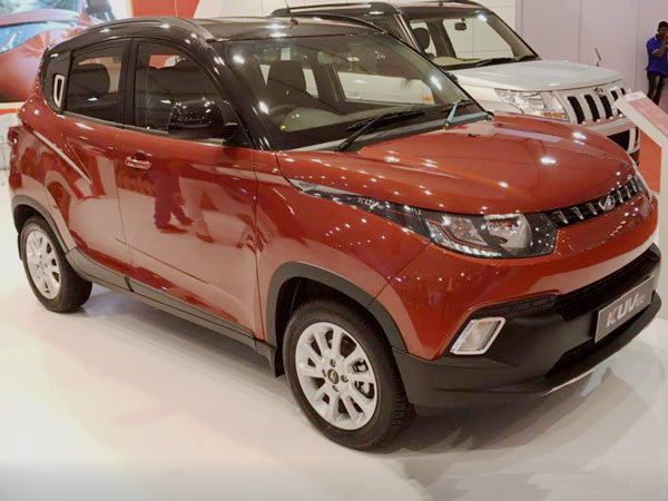 Mahindra KUV100 Anniversary Edition Revealed Ahead Of Launch