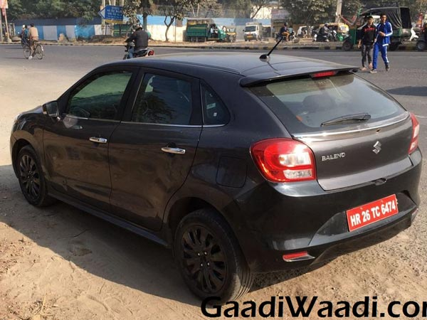 Spied: Maruti Suzuki Baleno RS To Launch In India Next Month; Images & Details