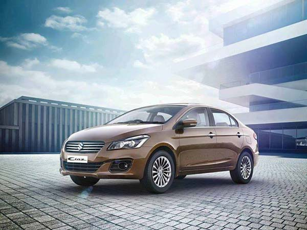 Maruti Suzuki Ciaz Facelift To Be Equipped With New Petrol Engine