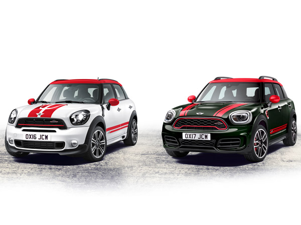 Manic 2017 Mini JCW Countryman Revealed: That's One Hot Crossover