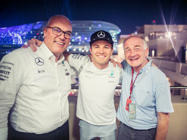 Reigning F1 Champion Nico Rosberg Takes Up Mercedes Ambassador Role