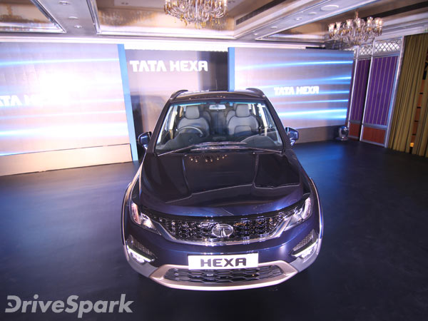 Tata Hexa Launched In Bangalore; Launch Price + Photo Gallery