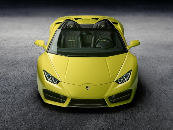 Lamborghini Huracan RWD Spyder Launched In India; Priced At Rs 3.45 Crore