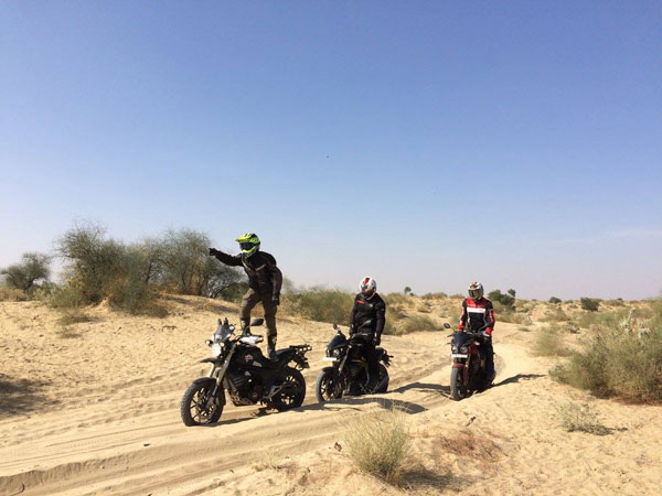 Mahindra Mojo Concludes First Ever Desert Trail