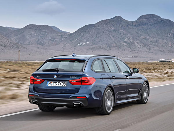 2017 bmw 5 series touring revealed ahead of geneva motor show debut drivespark news. Black Bedroom Furniture Sets. Home Design Ideas