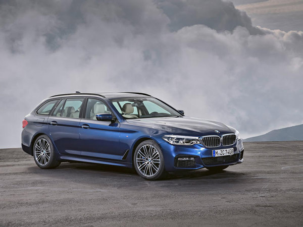 2017 BMW 5 Series Touring Revealed Ahead Of Geneva Motor Show Debut