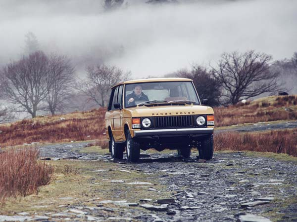 1978 Range Rover Two-Door Revealed As First Range Rover Reborn Model