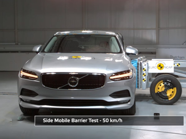 Euro NCAP Crash Tests Volvo S90 & V90 — Results Are More Than Impressive
