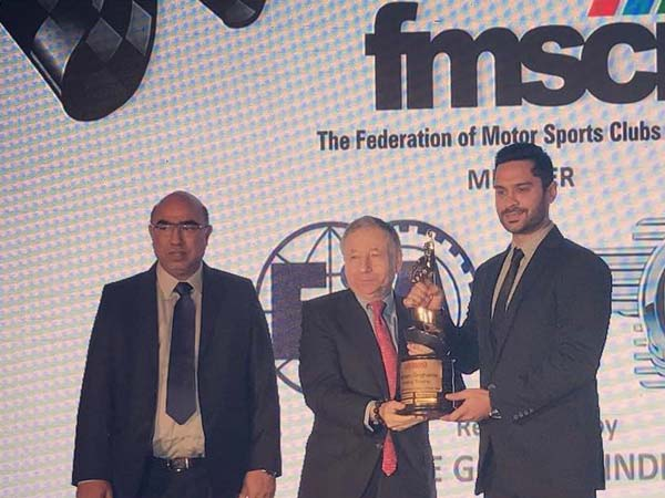 Gaurav Gill Honoured With Motorsports Person Of The Year Award By FMSCI