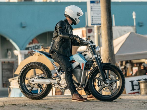 Alta Motors Redshift ST; An Electric Street Tracker Motorcycle Concept