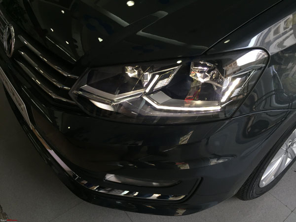 Spy Pics: Volkswagen Vento Highline Plus Spotted At Dealership