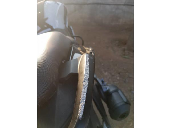 First Crash Involving Bajaj Dominar Reported