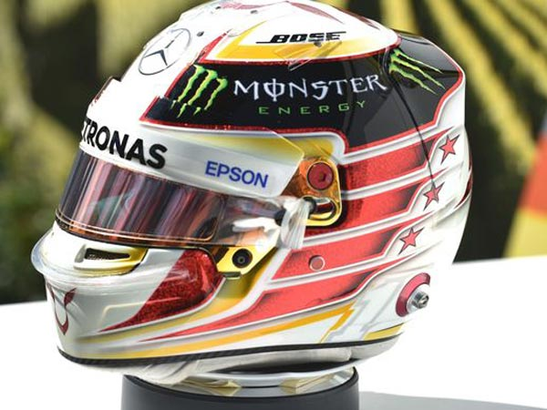 Over 8,000 F1 Helmet Designs To Choose From — Hamilton Has A Tough Task Ahead