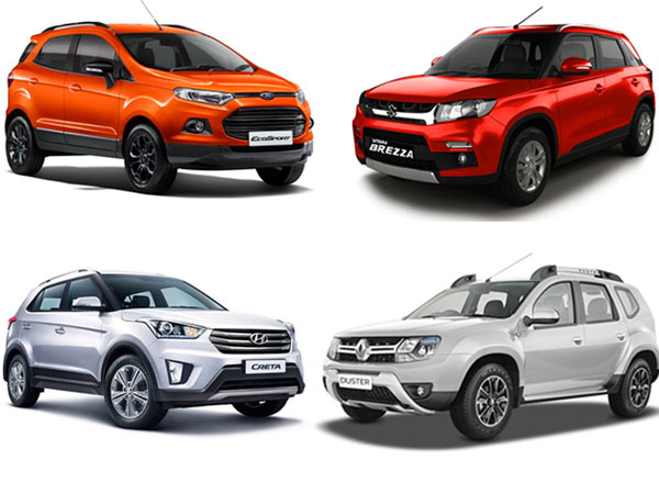 Top 5 Ing Compact Suvs In January 2017 India