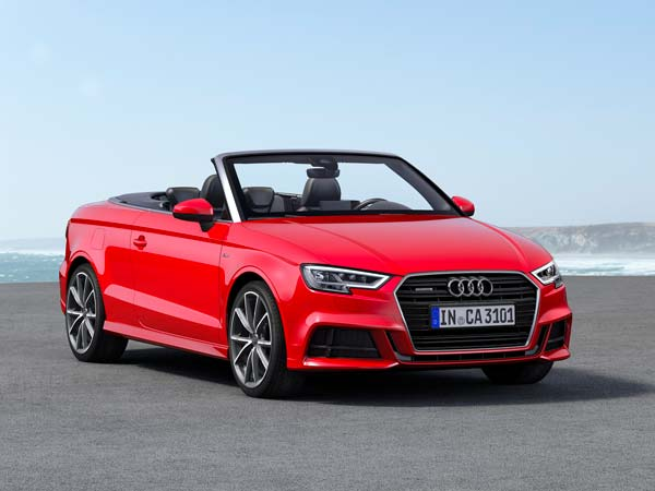 audi a3 cabriolet launched in india priced at rs 47 98 000 drivespark news. Black Bedroom Furniture Sets. Home Design Ideas