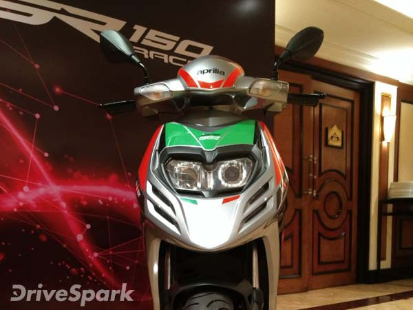 Aprilia SR 150 Race Edition Launched In India — Receives Mechanical And Cosmetic Upgrades