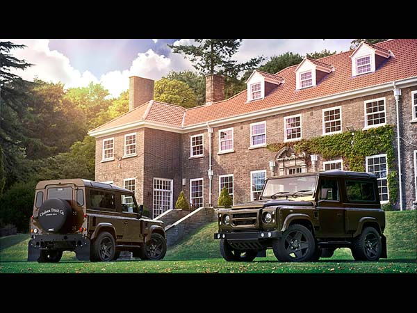 Chelsea Truck Company Reveals The Land Rover Defender 'The End Edition'