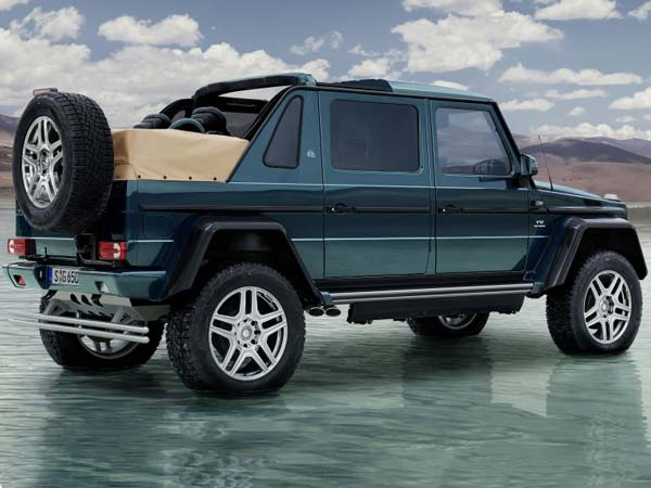 Mercedes-Maybach G650 Landaulet 4×4² Revealed — The Ultimate Luxury Off-Roader Yet?