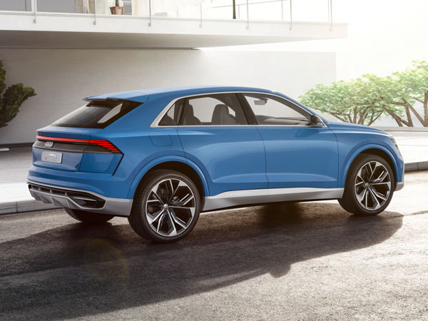 Audi RS Q8 Concept Set To Debut At The 2017 Geneva Motor Show