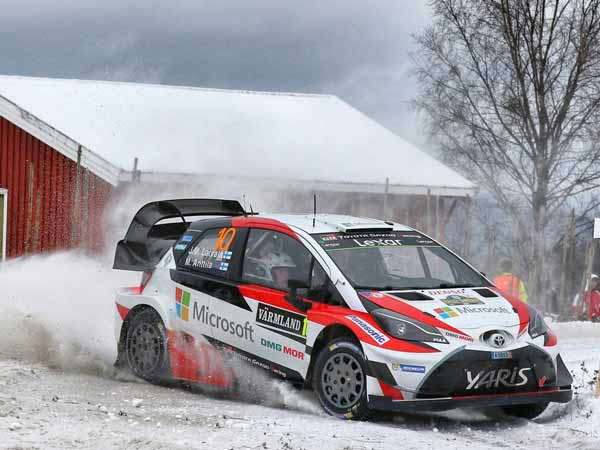 WRC Rally Sweden 2017; Toyota Is Back With A Bang!