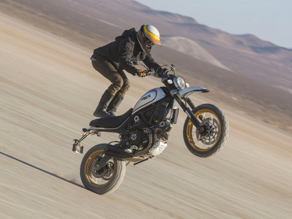 Ducati Scrambler Desert Sled; India Launch likely In August