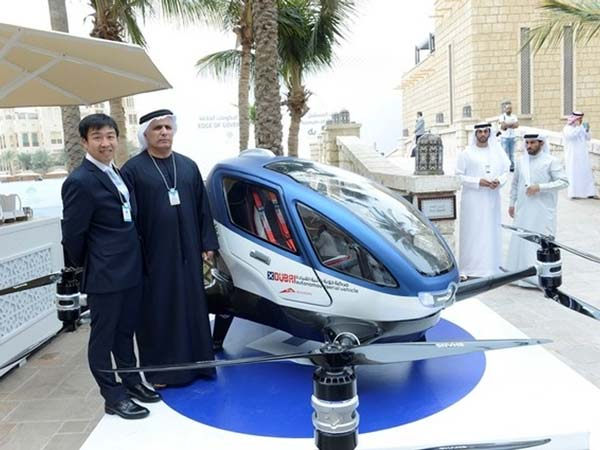 Is Dubai Looking To Launch Self Driving Hover Taxis This Year?