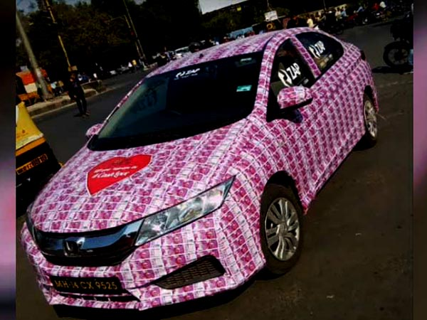 truth behind honda city wrapped in rs 2000 notes drivespark