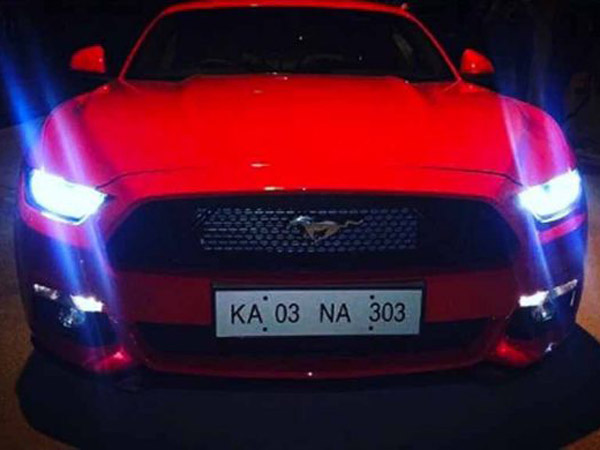 Indian Cricketer Karun Nair Buys Ford Mustang To Mark His Triple Century