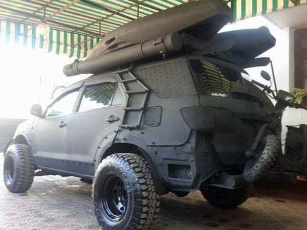 This Modified Toyota Fortuner Is Ready For Any Expedition