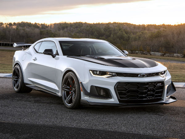 The Camaro ZL1 Goes Into Beast Mode With New Weight Loss Package