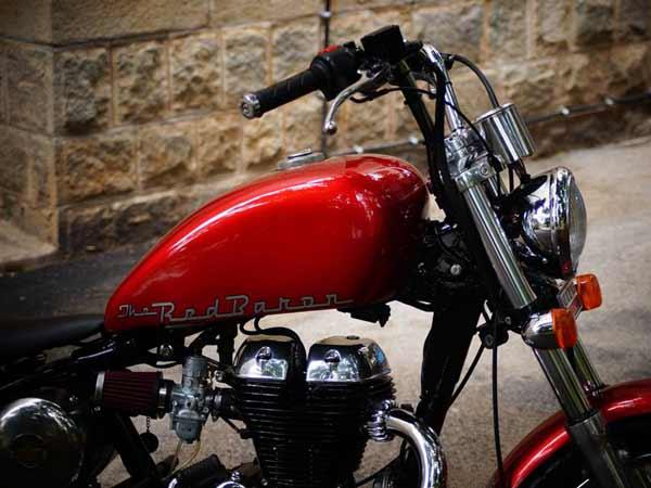Eimor Customs' Gold Stone And Bulleteer Customs' Red Baron