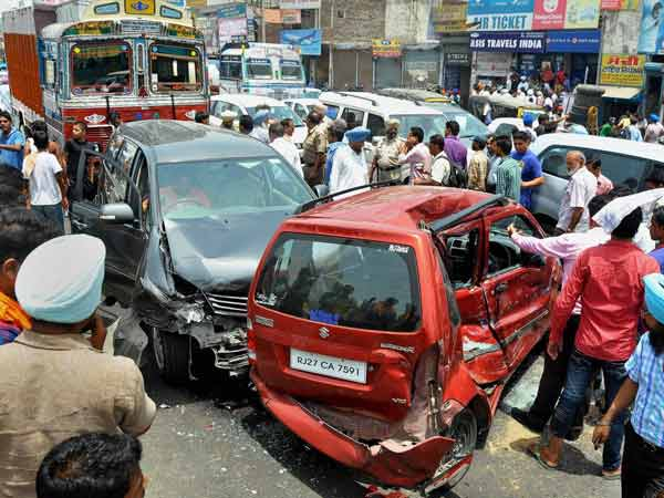 steps taken to reduce road accident