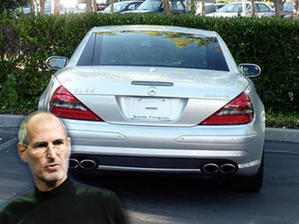 Why Steve Jobs Car Never Had A Registration Plate Drivespark