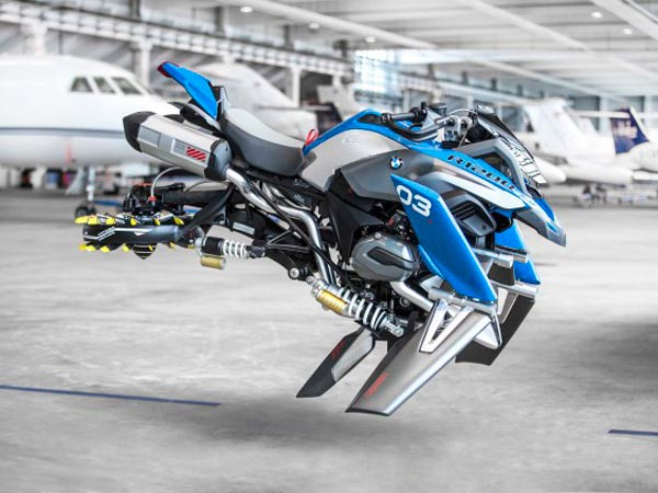 BMW Motorrad Builds Lego Inspired R 1200 GS Hover Bike Concept