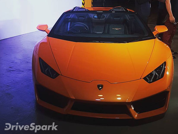 lamborghini huracan rwd spyder launched in india priced at rs crore drivespark. Black Bedroom Furniture Sets. Home Design Ideas