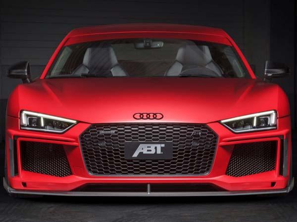 Audi R8 V10 Plus Gets Abt Treatment Gets Even More Insane