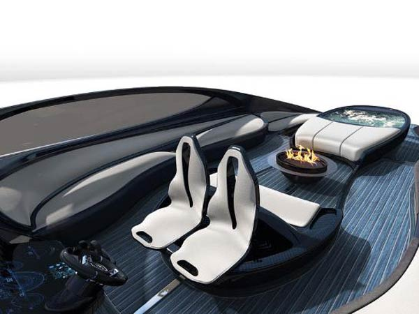 bugatti built a luxury sport yacht to match the chiron. Black Bedroom Furniture Sets. Home Design Ideas