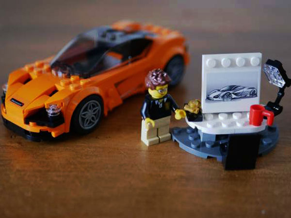 mclaren 720s lego speed champions set announced drivespark. Black Bedroom Furniture Sets. Home Design Ideas