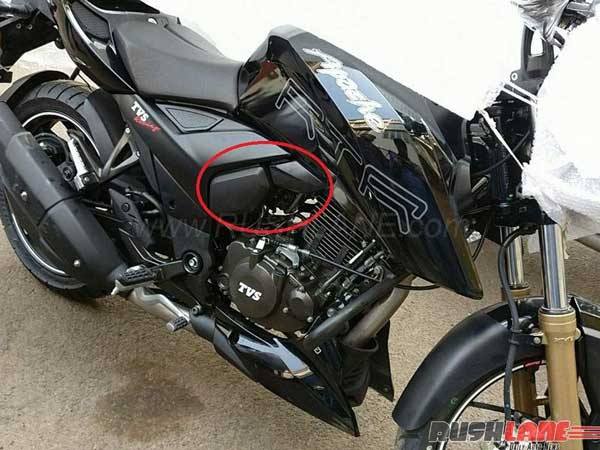 TVS Apache RTR 200 4V FI, ABS Variant Spotted At
